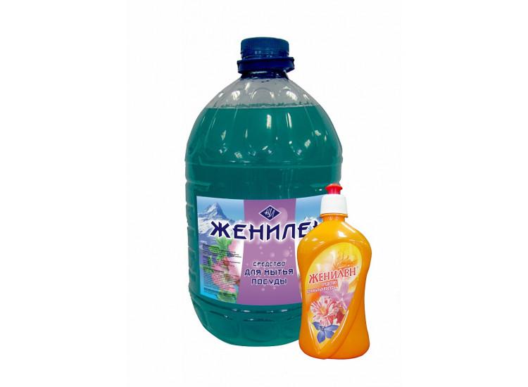 Средство для мытья посуды ЖЕНИЛЕН® ромашка (5кг)