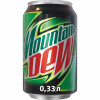 Газированный напиток Mountain Dew 0,33 л