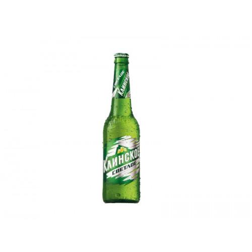 Пиво Клинское светлое 0,47 л