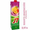 Нектар J-7 апельсин маракуя манго  0,97л