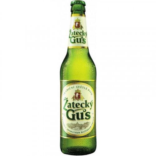 Пиво светлое Zatecky Gus Светлое Фильтрованное 4,6% 480 мл