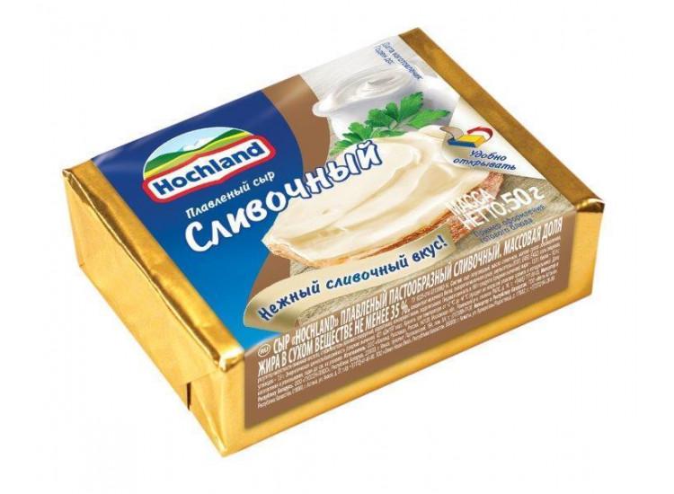 Сыр плавленый Hochland Сливочный