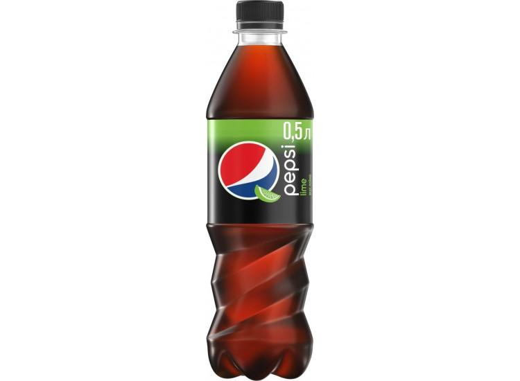 Газированный напиток Pepsi Lime 500 мл, ПЭТ