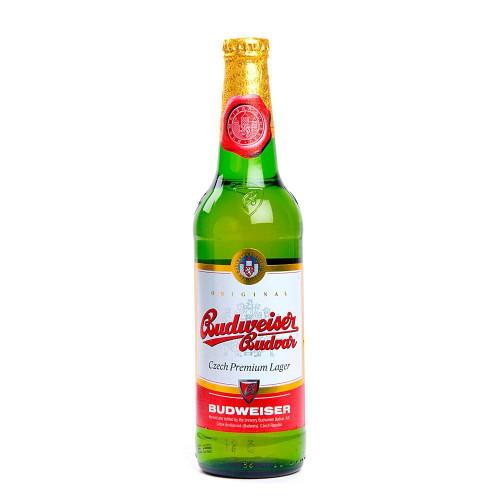 Пиво Budweiser Budvar светлое фильтрованное 5% 0,5 л