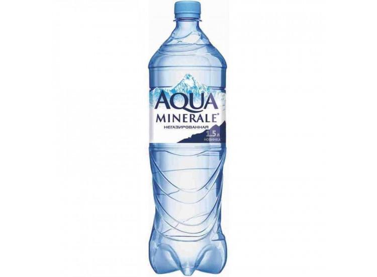 Вода негазированная питьевая Aqua Minerale 1,5 л
