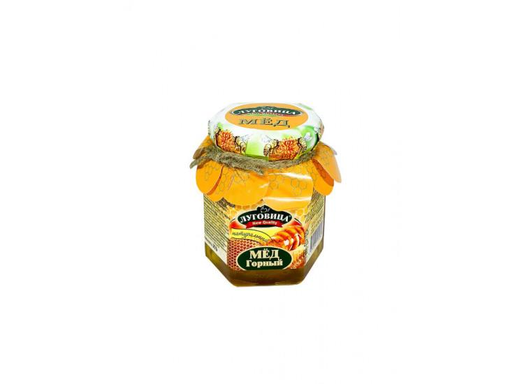 Мед горный натуральный ЛУГОВИЦА 250 гр