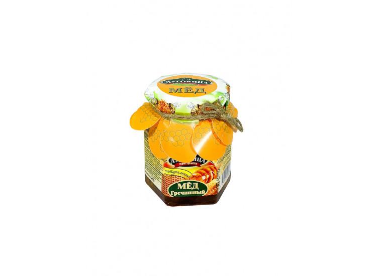 Мед гречишный натуральный ЛУГОВИЦА 250 гр