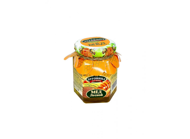 Мед лесной натуральный ЛУГОВИЦА 250 гр