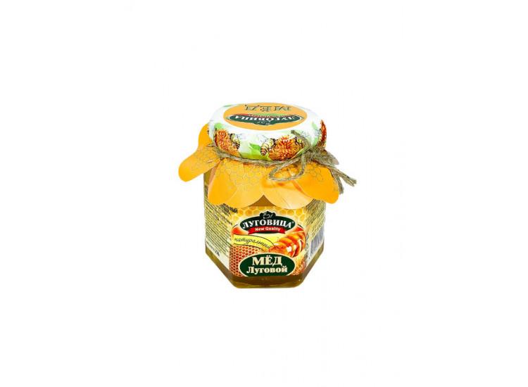 Мед луговой натуральный ЛУГОВИЦА 250 гр