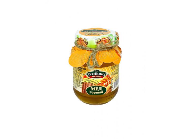 Мед горный натуральный ЛУГОВИЦА 350 гр