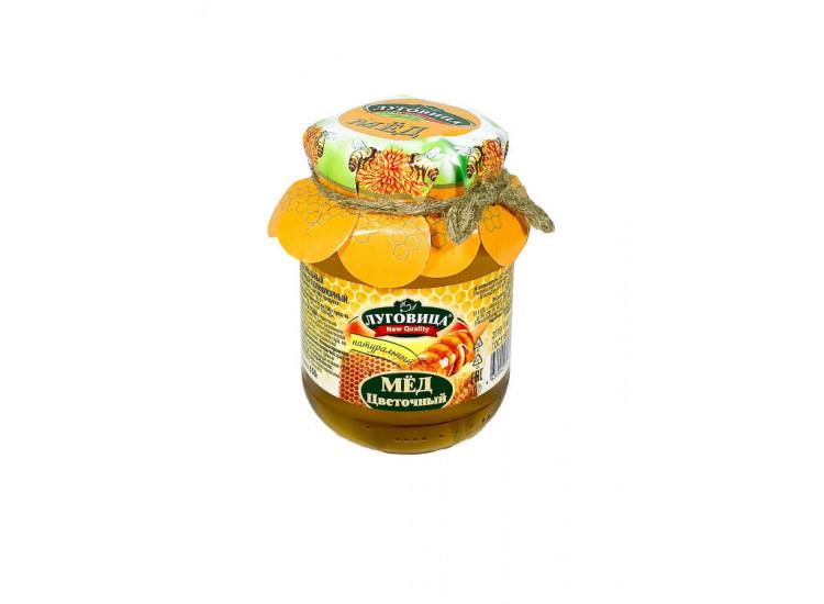 Мед липовый натуральный ЛУГОВИЦА 250 гр