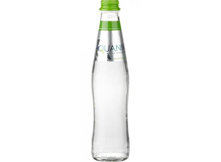 Вода питьевая АКВАНИКА  без газа 0,35 стекло