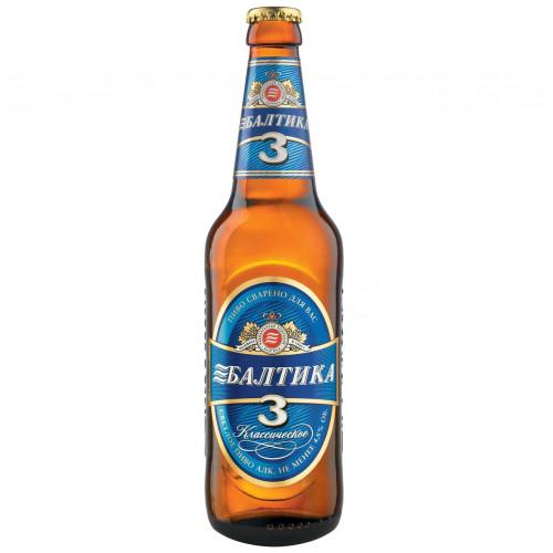 Пиво Балтика №3 450 мл, стекло