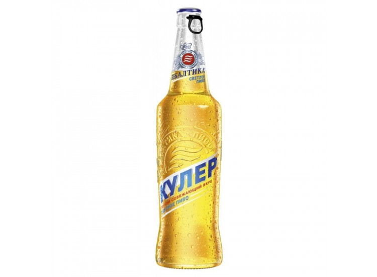Пиво Балтика Кулер 4,7% Стекло 0,47 л