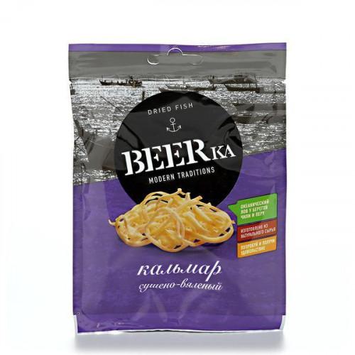 Кальмар сушеный соломка Beerka 18 гр