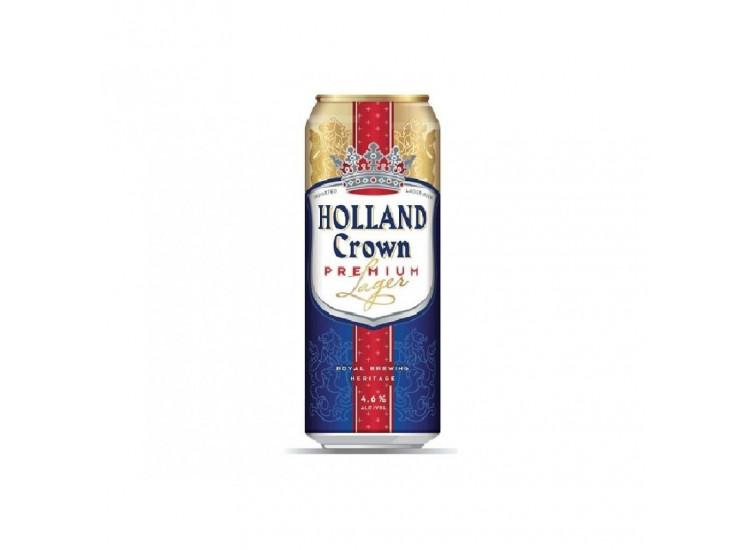 Пиво HOLLAND Crown светлое фильтрованное 4,8%