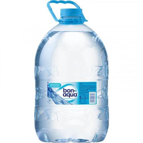 Вода питьевая БОН АКВА  (Bon Aqua) негазированная ПЭТ 5 л