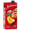 Нектар Любимый Яблоко Персик Нектарин 0,95 л