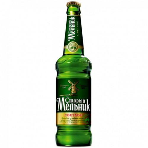 Пиво Старый Мельник Светлое 4,6% 450 мл