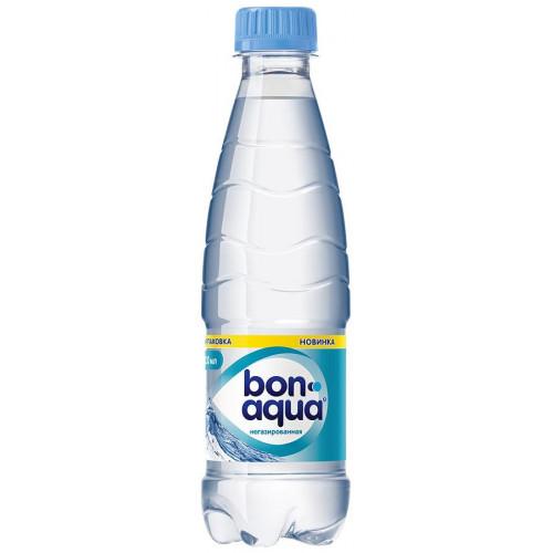 Вода негазированная Bon Aqua 0,33 л