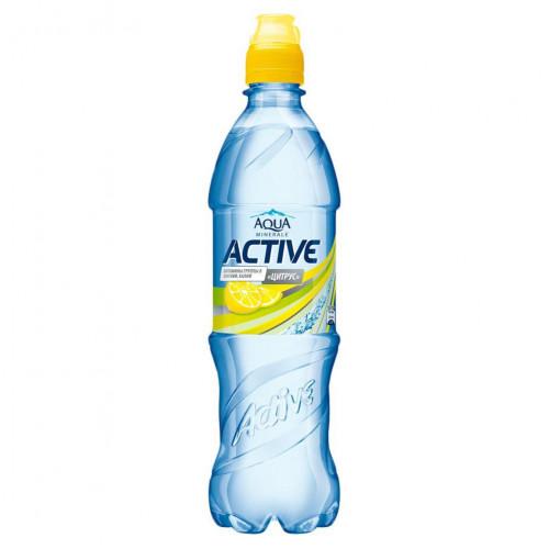 Вода Актив цитрус Aqua Minerale 0,6 л