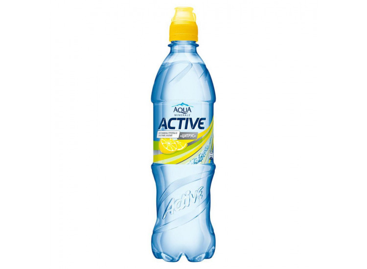 Вода Актив цитрус Aqua Minerale 0,6