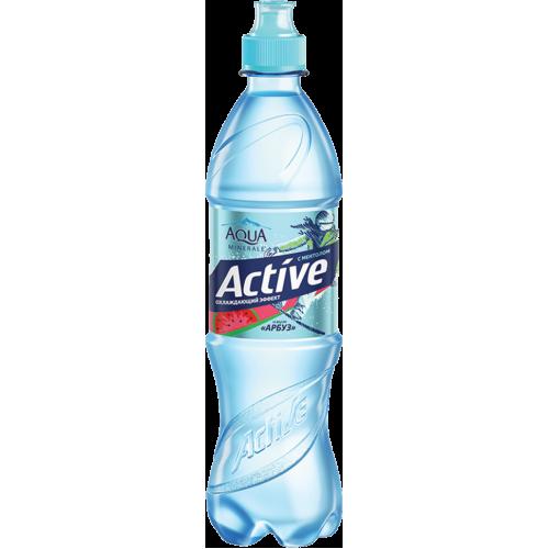Вода АКВА МИНЕРАЛЕ (Aqua Minerale) Актив гранат ПЭТ 0,6 л
