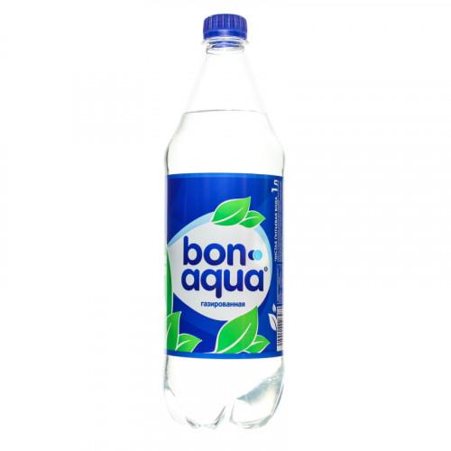 Вода газированная Bon Aqua 1л