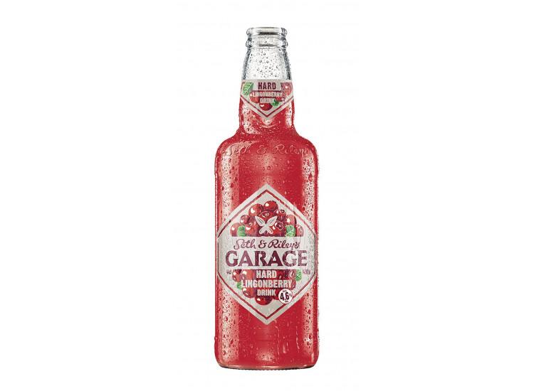 Пивной напиток Seth and Riley's Garage Hard Lingonberry Брусника 0,45 л