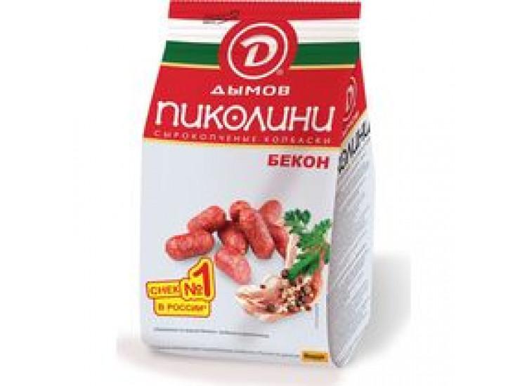 Колбаски Дымов Пиколини Бекон сырокопченые 70 г