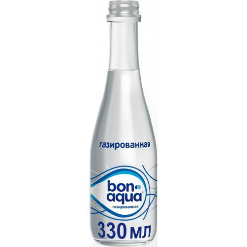 Вода газированная BonAqua 0,33 л