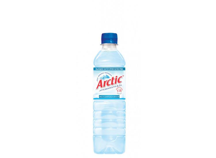 Вода питьевая Арктик (ARCTIC) негазированная  ПЭТ 0,5л
