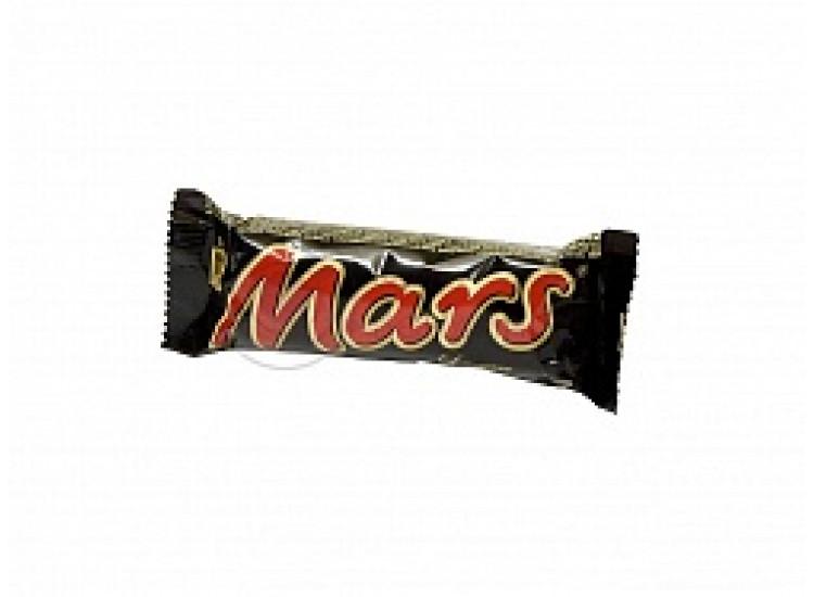 Шоколадный батончик МАРС (MARS) 55 гр