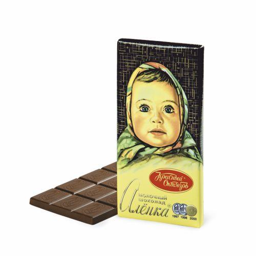 Шоколад молочный АЛЕНКА 100 г