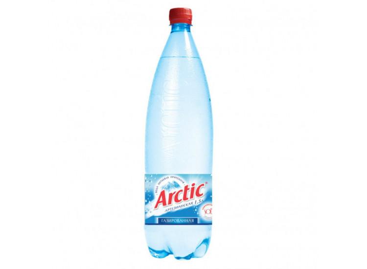 Вода питьевая Арктик (ARCTIC) газированная ПЭТ 1,5л