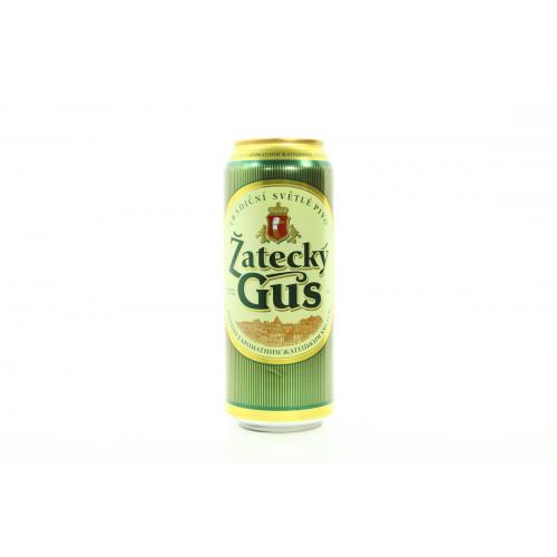 Пиво Zatecky Gus светлое ж\б 0.45 л