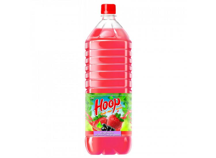Напиток НООР клубнично-чёрносмородиновый вкус ПЭТ 2л