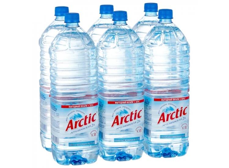 Вода питьевая Арктик (ARCTIC) негазированная ПЭТ 2л