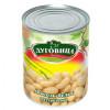 Фасоль белая в томатном соусе ЛУГОВИЦА 360 гр ж/б