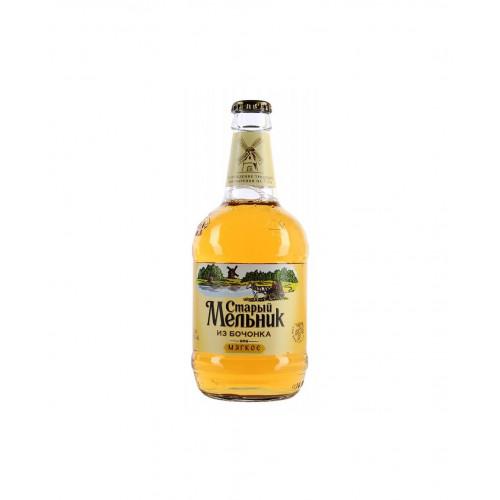 Пиво Старый Мельник из Бочонка Мягкое 0,45 л
