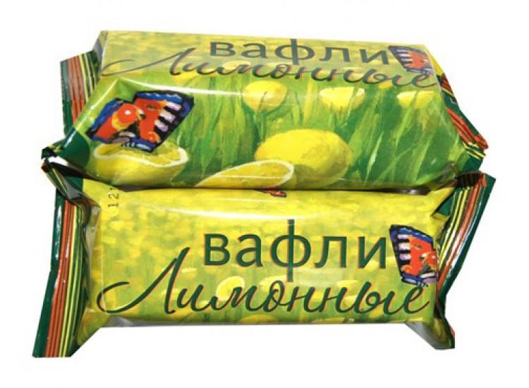 Вафли Лимонные, 40 гр