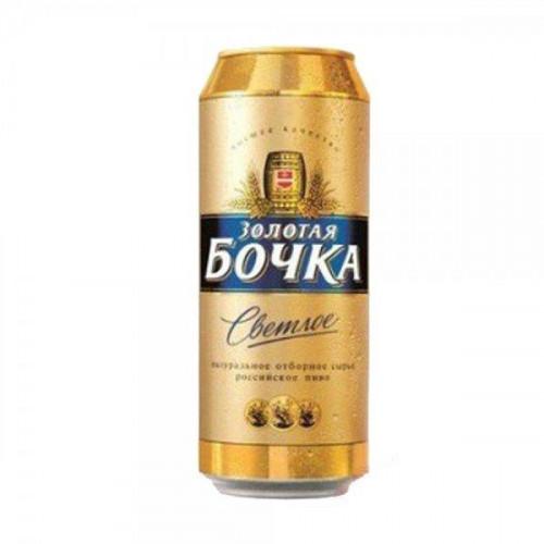 Пиво Золотая бочка Светлое 4,7% ж/б 0.45 л