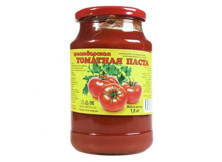 Томатная паста Краснодарская, 1 кг