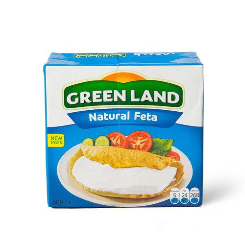 Сыр рассольный натуральный Фета GREEN LAND 500 мл