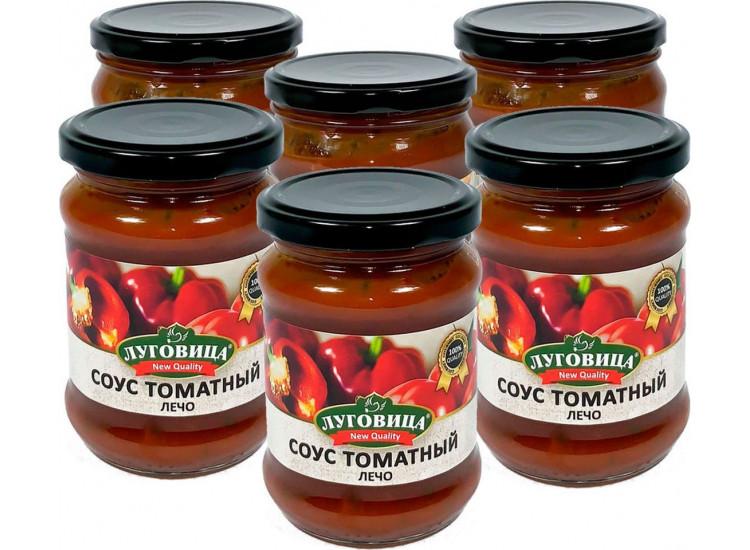 Соус томатный Лечо ЛУГОВИЦА 260 гр