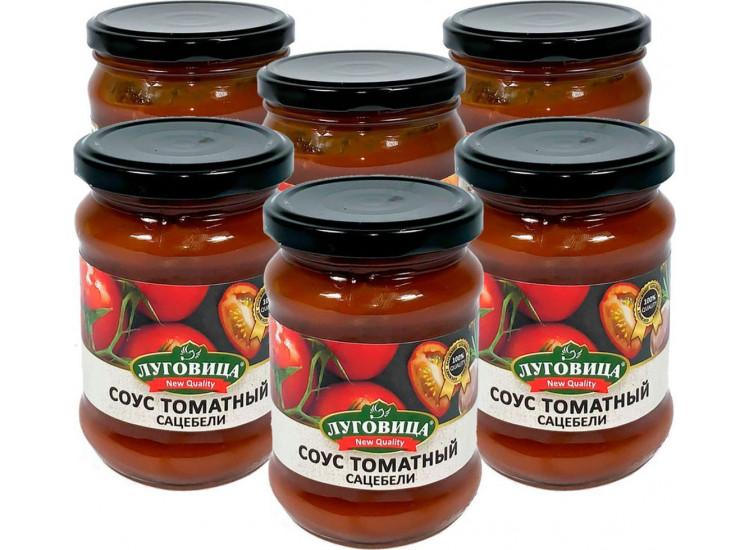 Соус томатный Сацебели ЛУГОВИЦА 260 гр