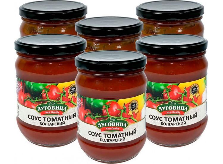 Соус томатный Болгарский ЛУГОВИЦА 460 гр
