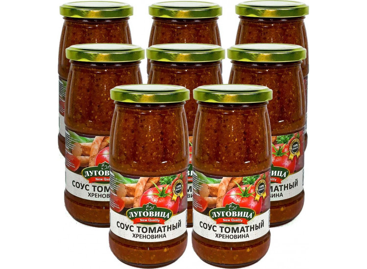 Соус томатный Хреновина ЛУГОВИЦА 470 гр