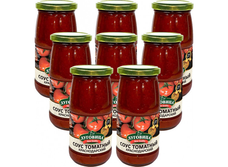 Соус томатный Краснодарский ЛУГОВИЦА 470 гр