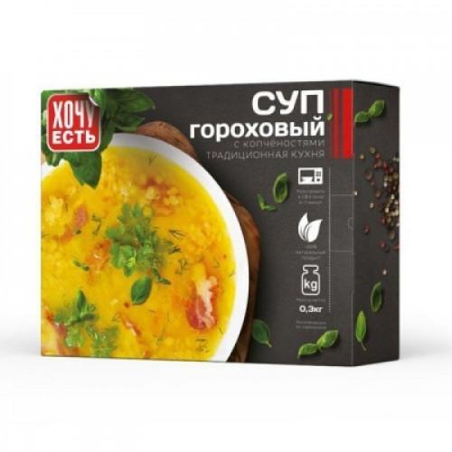 Суп гороховый с копченостями Алексинский мясокомбинат 300 гр